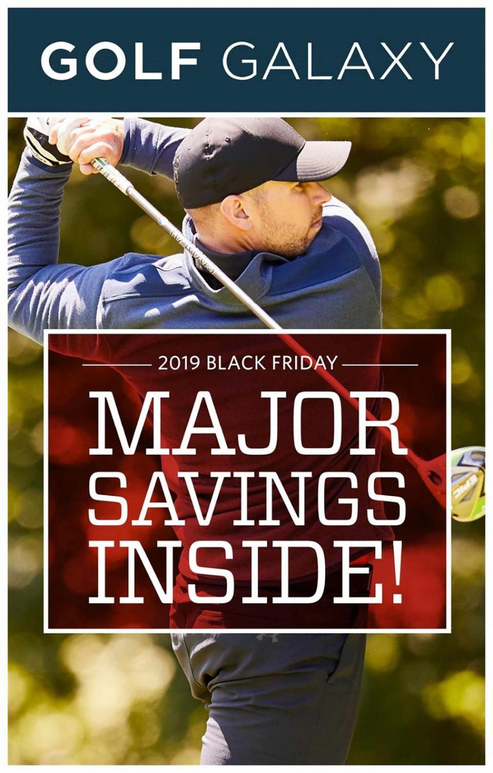 Golf Galaxy black friday ad