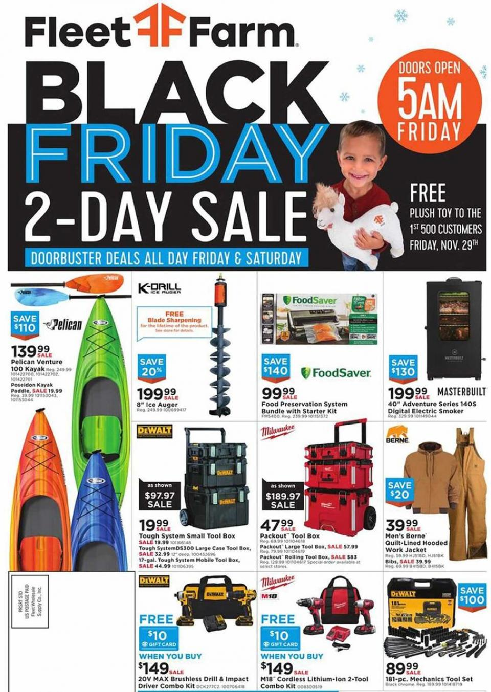 Fleet Farm black friday ad