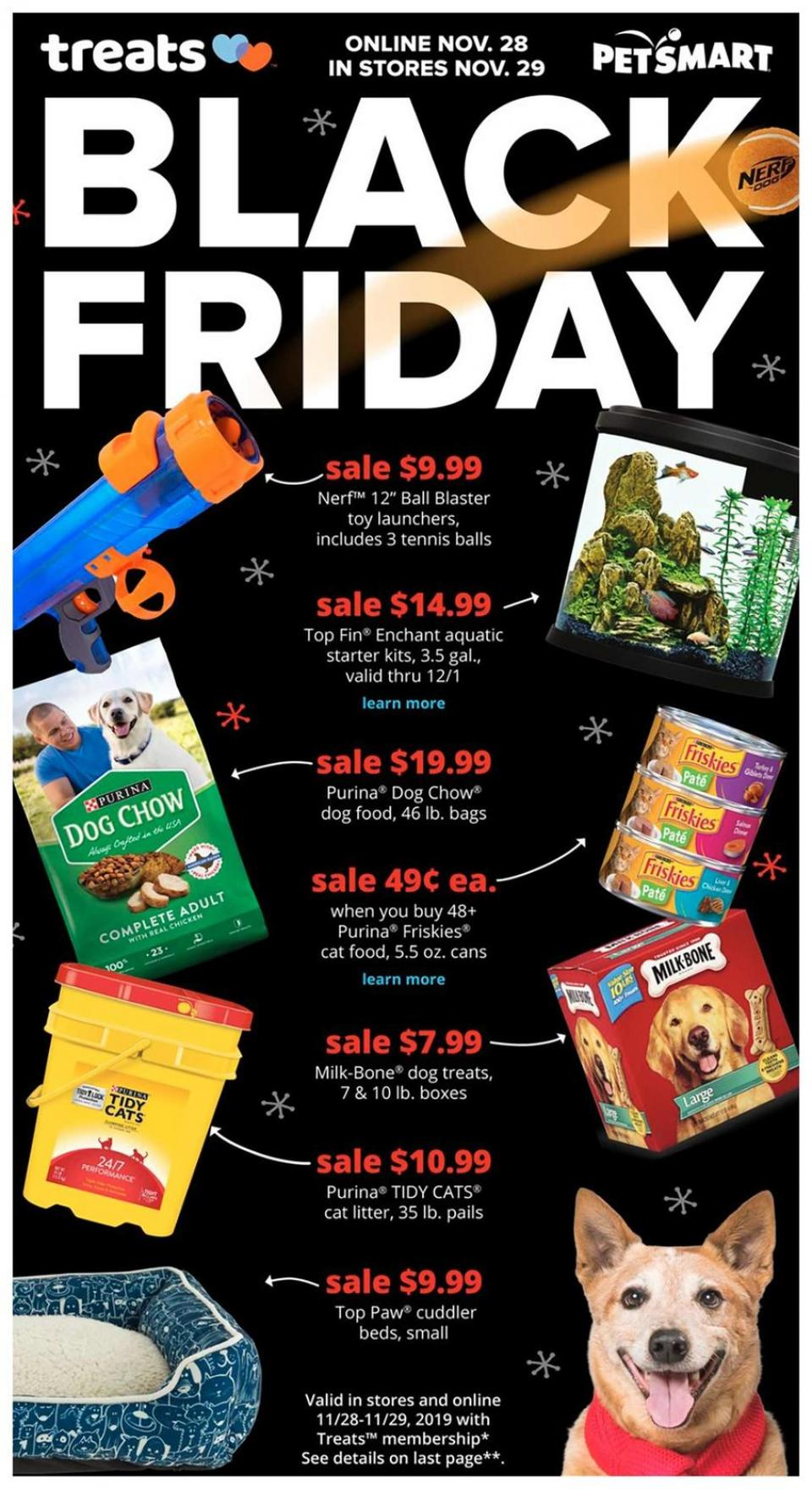 Pet Smart black friday ad
