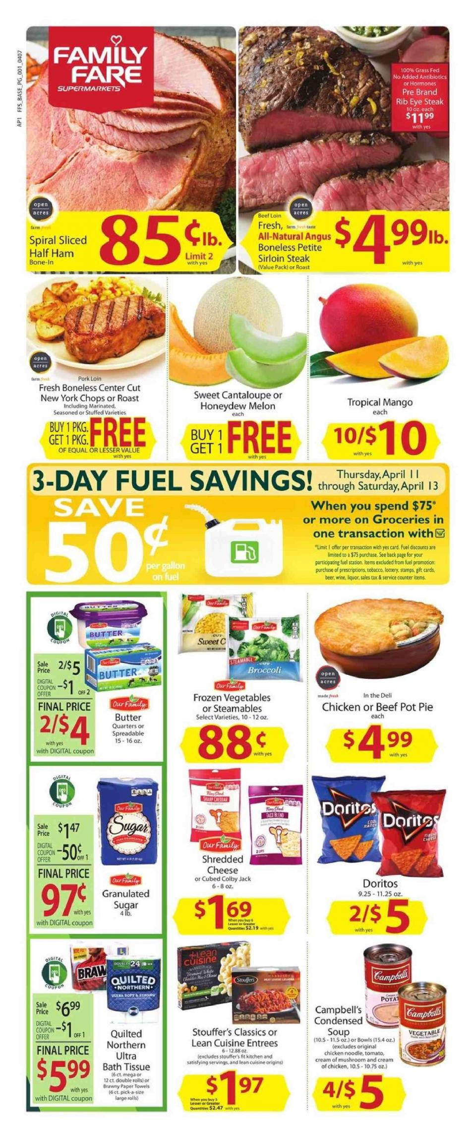 Family Fare Ad