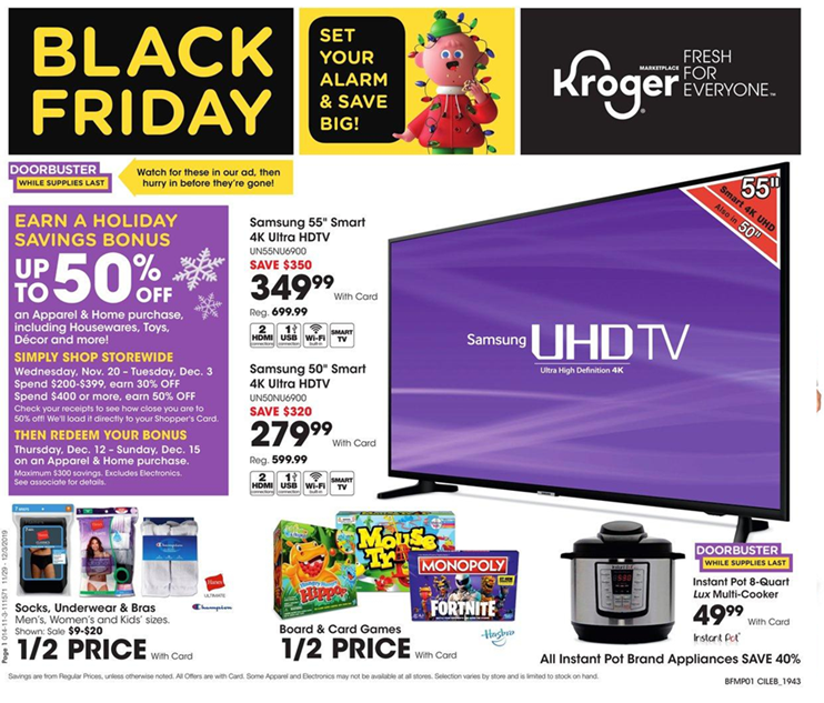 Kroger black friday ad