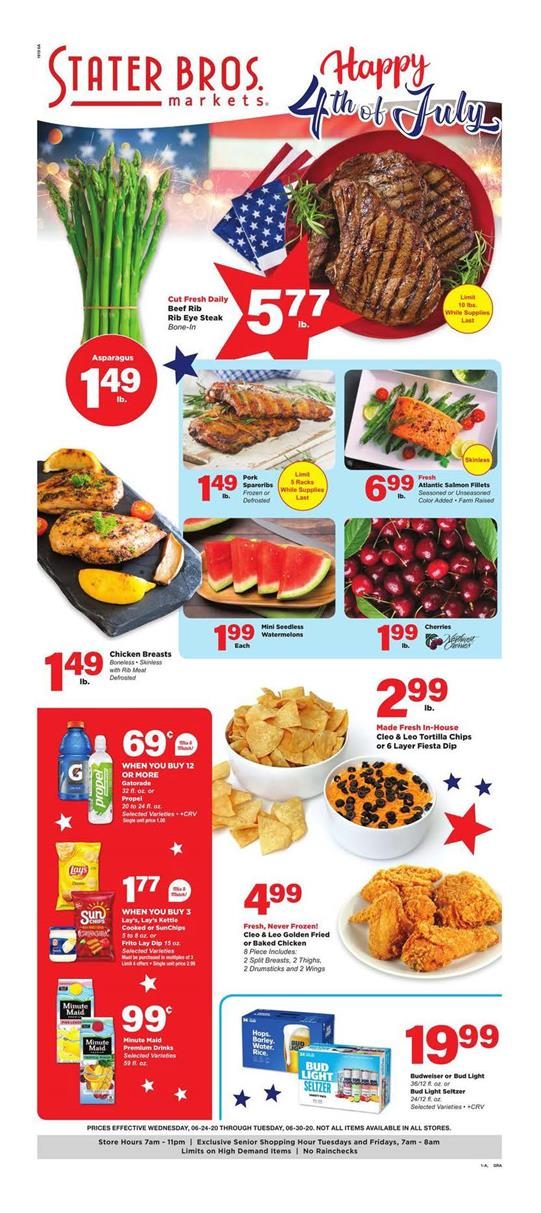 Stater Bros Ad