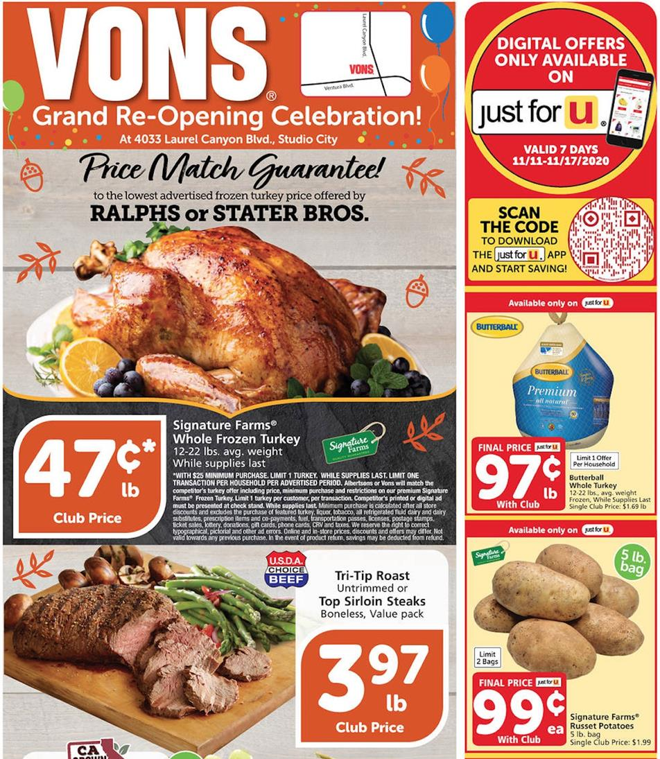 Vons Weekly Ad