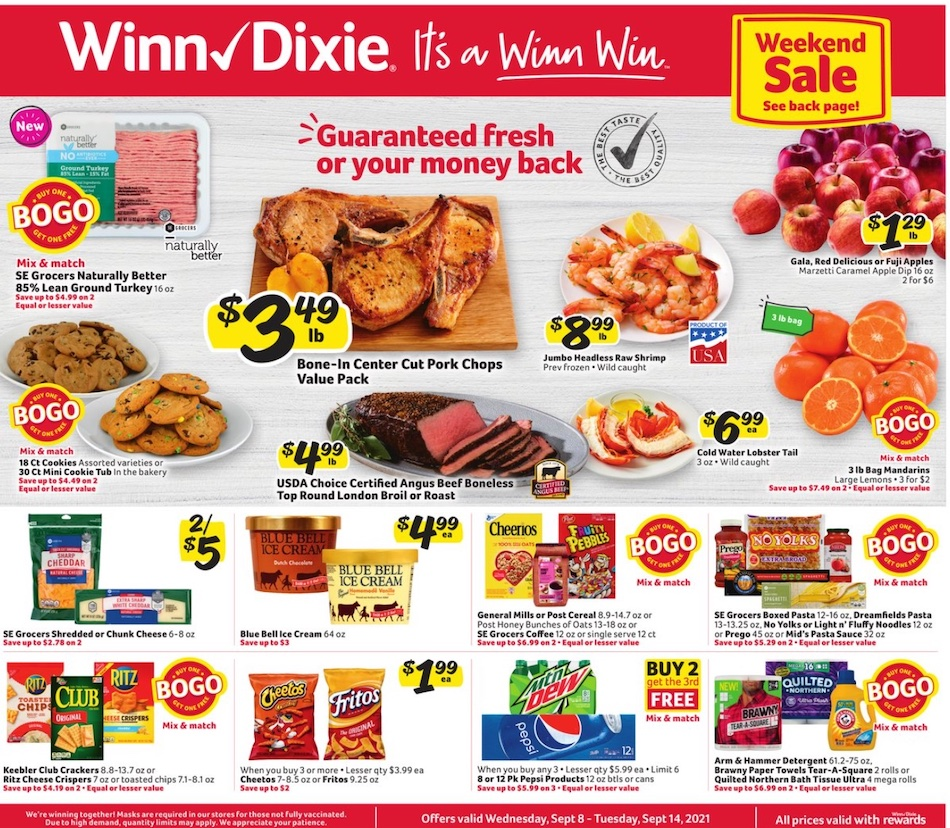 Hy-Vee Quad Cities/Clinton Ad - Monday, July 27, 2015